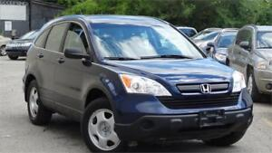 2009 Honda CR-V LX with safety certificate.