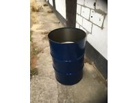 Fire bins and incinerator bins