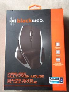New Blackweb wireless mouse for XP, Vista, Windows 7 & 8.