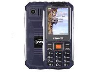 TKWORLD STONE V3S UNLOCKED DUAL SIM BLACK 8GB MEMORY,NEW IN BOX.