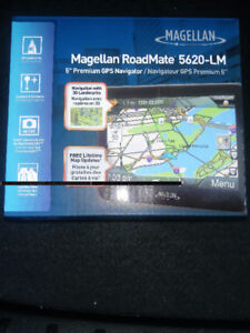 New Magellan Roadmate 5620-LM with 12 months warranty