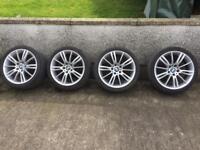 Genuine BMW 18in MV3 alloys