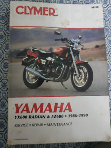 Yamaha Radian YX600 parts and service manual