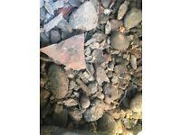 Garden gravel/rubble