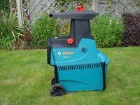 Bosch electric garden waste shreder