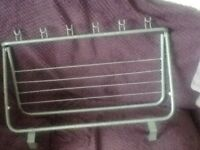 Clothes airer for caravan or motorhome