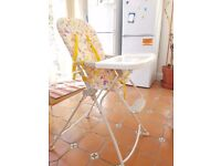 Toco Galley Compact Folding Highchair