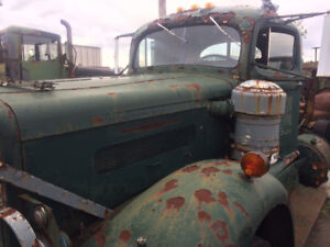 Classic 1953 B-26 White Diesel for Restoration or Parts