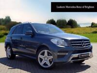 Mercedes-Benz M Class ML250 BLUETEC AMG SPORT (grey) 2013-09-17