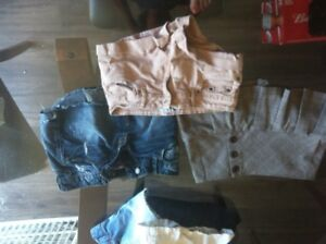 Jean jupe et short small