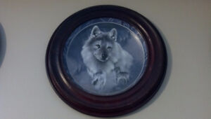 Bradford Exchange Wolves - Silver Scout