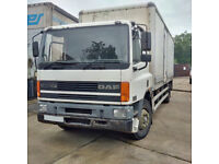DAF CF 65.240 18 Ton box lorry. Manual injector pump.