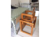 High Chair / Activity Table and Chair