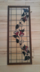 Stained glass window panel (reduced price)