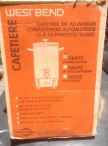 Cafétiere 30 tasses