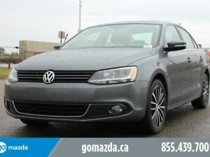 2013 Volkswagen Jetta 2.5 Highline Leather Sunroof Low Km's Acci