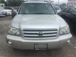 2003 Toyota Highlander\LEATHER\3 years [pwertrain warranty free\