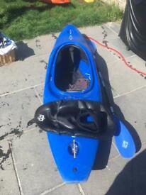 Dagger Kayak, Paddle and Spray deck