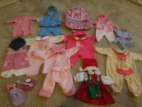 Baby Born Doll clothes and rucksack