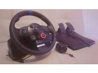 Logitech Driving Force GT PS3/PC Steering Wheel