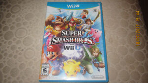 Super Smash Bros Wii U still like new