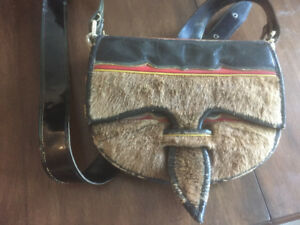 Authentic Colombian leather messenger bag $65 obo