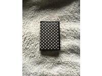 Alexander McQueen skulls and polka dots card holder
