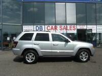 JEEP GRAND CHEROKEE 3.0 V6 CRD LIMITED 5d AUTO 215 BHP (silver) 2008