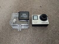 GoPro Hero 4 Black + Complete Set of Accessories + SD card
