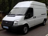 12(12) FORD TRANSIT 350 LWB HIGH ROOF 2.2 FWD 125 BHP 6 SPEED DIESEL EURO 5