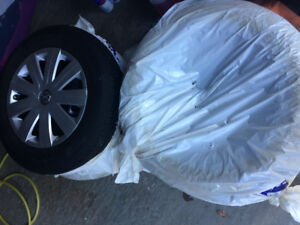 Brand new VW tires and Rims