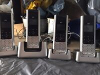 quad telephone set