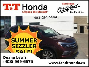 2016 Honda Pilot Touring* Navi, DVD, Bluetooth, Rear Camera*