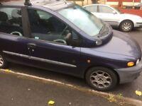 Fiat multipla elx 1.9 diesel 6 seater