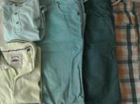Boys shorts and t-shirt bundle. Age 10-11.