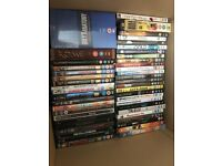 Collection of 100 DVDs and boxsets