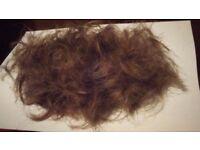 *Rare* Ginger Hair * Genuine .. toupe wig eyelashes hairdresser beautician