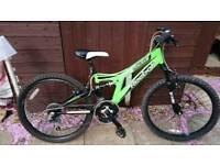 """Reebok Jackal 24"""" 18 speed Bicycle"""