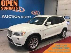 2013 BMW X3 xDrive28i AWD! LEATHER! FINANCE NOW!