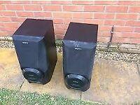 SONY SS-XB6AV Large Floorstander Speakers - black