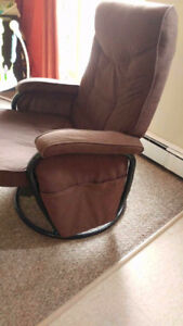 Rocking Chair / Recliner With Stool