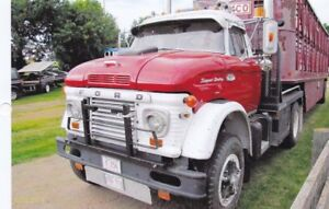 1969 Ford F-850 and Trailer