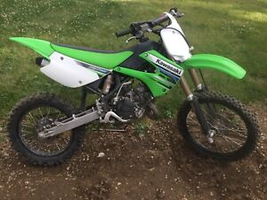 Kawasaki KX100 Dirt Bike 2012