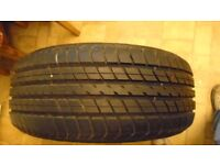 215X55X16 DUNLOP TYRE COMES OUT FROM MERC NO PUNCTURE 25/=