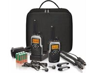 NEW Binatone Action 1100 2-Way Radio Travel Set Walkie Talkie LONDON
