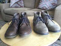 Two Pairs Men's Boots Size 6