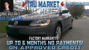 2013 VW Jetta {One Owner} Great Gas Mileage, Factory Warranty!!!
