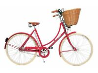 """Almost new 20"""" Ladies / Womans Red Pashley Britannia Bicycle / Bike"""