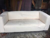 Ikea (klippan) sofa