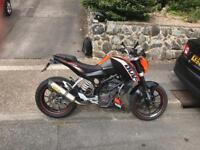 KTM DUKE 125 2011 125cc